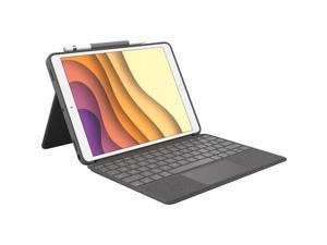 "Logitech Combo Touch Keyboard/Cover Case for 10.5"" iPad Air/Pro 3rd Gen Graphite"