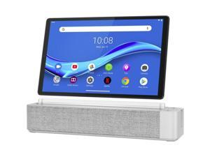 "Lenovo Smart Tab M10 FHD Plus (2nd Gen) with Alexa Built-in ZA6M0007US MediaTek Helio P22T 2.30 GHz 4 GB LPDDR4X Memory 128 GB eMCP4x 10.3"" 1920 x 1200 Tablet PC Android 9.0 (Pie) Platinum Grey"