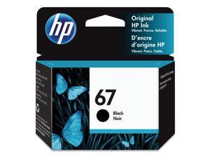 HP 67 3YM56AN Inkjet Ink Cartridge Black in Retail Packaging