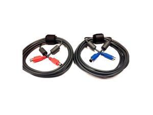 Spare Cable for Logitech Group - Mini DIN (M) to mini DIN (M), Pack of 2 - Video Cable (S-Video)