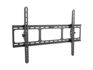 Heavy Duty Low Profile Tilting Flat Panel Wall Mount, Max Panel Weight 60kg Designed for Most of 40-100 inch LED, LCD, OLED Flat Panels, Supports up to VESA 800x500mm BIGASSMOUNT60T Amer Mounts