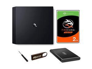 Fantom Drives 2TB SSHD + FD 16GB PS4 SSHD Upgrade Kit Pro - Seagate Firecuda