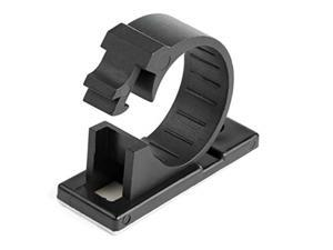 100 SELF ADHESIVE CABLE MANAGEMENT CLIPS