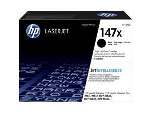 HP 147X High Yield Black Original LaserJet Toner Cartridge, W1470X