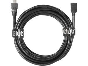 Club 3D 5m/16.4ft HDMI 2.0 M-F HDMI Extension Cable