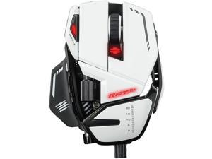 MAD CATZ R.A.T. 8+ Optical Gaming Mouse - White (MR05DCAMWH00)
