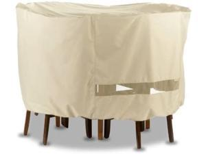 Anyweather AWPC07 Round Patio Set Outdoor Cover, Beige