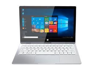 """Hyundai FlipNote 11 11.6"""" Laptop N3350 4GB 64GB SSD W10H Silver HTLF11WB1S"""