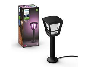 Philips Hue Econic White & Color Outdoor Smart Light Base Kit Hue Hub Required