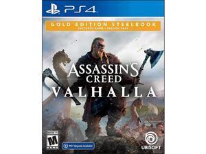 Assassin's Creed Valhalla Gold Steelbook Edition - PlayStation 4