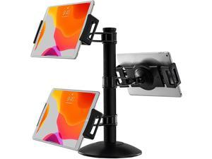 CTA Digital Quick-Connect Universal Trio Tablet Mount w/ Height-Adjustable Arms