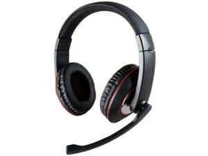Binaural USB Black Headset DirectIOnal Mic Volume Control