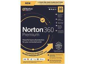 Norton 360 Premium For Up To 10 Devices 21389990
