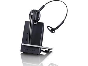 EPOS Sennheiser D 10 USB ML - US  Single-Sided Wireless DECT Headset, with Direct Softphone Connection, Noise Cancelling Microphone, and is Skype for Business Certified (Black)