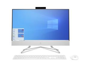 "HP All-in-One Computer (Factory Recertified) 24-df0042ds Athlon Gold 3150U (2.40 GHz) 8 GB DDR4 256 GB PCIe SSD 23.8"" Touchscreen Windows 10 Home 64-bit"