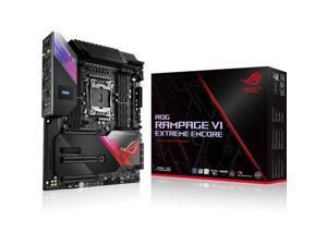 ASUS ROG Rampage VI Extreme Encore LGA 2066 Intel X299 SATA 6Gb/s Extended ATX Intel Motherboard