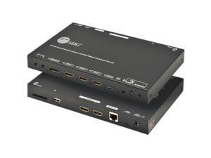 SIIG 5x3 Multi-Format 4K 60Hz Presentation Switcher & Recorder CEH26S11S1