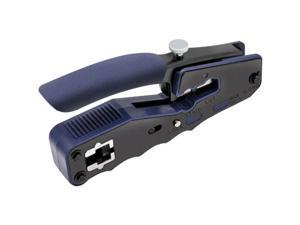 Tripp Lite Crimping Tool with Cable Stripper for Pass-Through RJ45 Plugs T100PT1