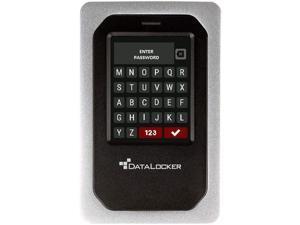 DataLocker DL4 FE 500GB USB 3.2 Portable External Hard Drive DL4500GBFE