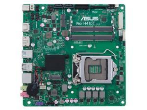 Asus Pro H410T/CSM LGA-1200 DDR4 Mini ITX Desktop Motherboard PROH410TCSM