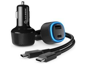 ALOGIC Rapid 2 Port USB-A + USB-C 12W Car Charger CRCA57