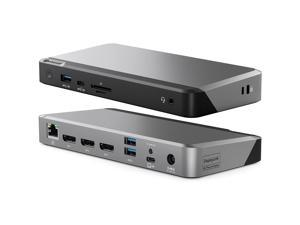 ALOGIC Triple 4K Display Universal 100W Docking Station DUPRDX3WW