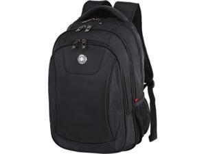 SwissDigital Business Carrying Case Backpack Notebook Black XHTJG08BLK