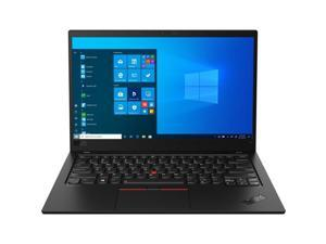 "Lenovo Laptop ThinkPad X1 Carbon Gen 8 20U90030US Intel Core i7 10th Gen 10610U (1.80 GHz) 16 GB Memory 512 GB PCIe SSD Intel UHD Graphics 14.0"" Touchscreen Windows 10 Pro 64-bit"