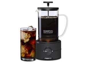 Presto 02937 Dorothy 22oz Electric Rapid Cold Brew Coffee Maker