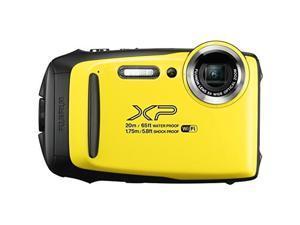 Fujifilm FinePix XP130 16.4MP Digital Camera Yellow Full-HD Wi-Fi Bluetooth