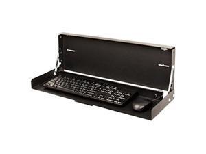 Rack Solutions 104-2795 Full Keyboard Wallmount - Black