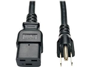12AWG 250V 20A Grandmax 12 FT UL//CSA//RoHS Black Computer Power Extension Cord for Servers and Computers IEC 60320 C19 to C20 SJT 3 Pack