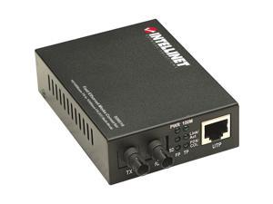 Intellinet 506519 Intellinet 10/100 Multi-Mode Media Converter, ST, 1.24 miles - Enhance your existing network so it supports both copper and fiber mediumns.