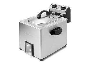Cuisinart CDF-500 Extra Large Rotisserie Deep Fryer and Steamer, Silver