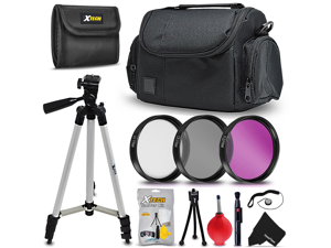 Essential 19 Piece Accessory Kit for Canon EOS Rebel T6i, Rebel T6S, EOS Rebel T5, Rebel T5i, Rebel T4i, Rebel T3, Rebel T3i, Rebel T2i, Rebel SL1, EOS M, EOS M2, EOS 700D, EOS 650D, EOS 600D, EOS 550
