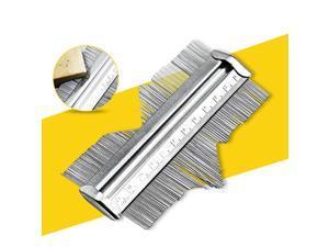 Stainless Steel Contour Gauge, Profile Gauge, Shape Duplicator, 125mm, Precisely Copy Irregular Shapes Contour Measurement