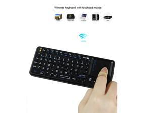 Calvas Fly Air Mouse Wireless Game Keyboard Rechargeable 2.4Ghz Keyboard Remote Controller C120 for Smart Tv Mini PC Android