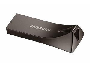 Samsung BAR Plus 32GB 200MB/s USB 3.1 Metal USB Flash Memory Drive Stick Pen Thumb --Titan Gray