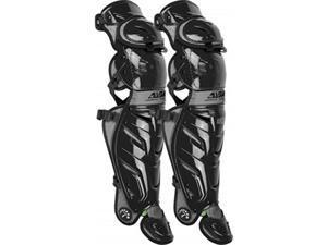 allstar adult system 7 axis catcher's leg guards