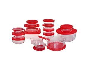 Food Storage Set 30Pc Cherry
