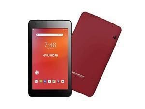 "Hyundai Koral 7W4X Tablet 7"" 1GB 16GB Storage Android 9.0 Pie Red HT0701W16R"