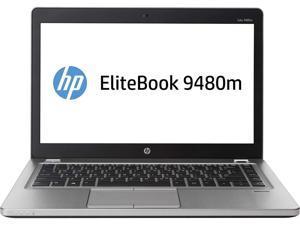 """HP EliteBook Folio 9480M 14"""" Laptop i7-4600u 8GB 256GB SSD Win10 Pro"""
