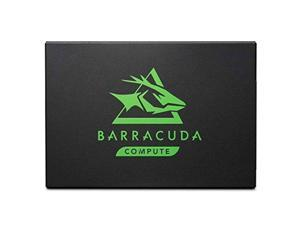 Seagate Barracuda 120 SSD 500GB Internal Solid State Drive - 2.5 Inch SATA 6GB/s for Computer Desktop PC Laptop (ZA500CM10003 Bulk Package)