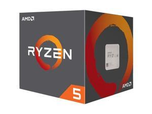 AMD Desktop Ryzen 5 1600 65W AM4 Processor with Wraith Stealth Cooler