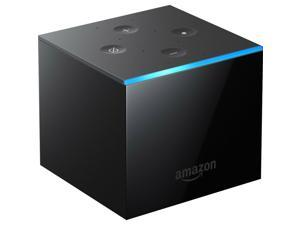 Amazon Fire TV Cube, Hands-free with Alexa Built-in, 4K Ultra HD, Streaming Media Player, Released 2019