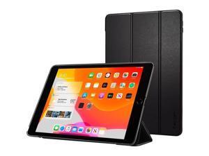 "Spigen Smart Fold Carrying Case Tri-fold for 10.2"" Apple iPad Tablet Black ACS00373"