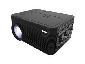 Naxa - NVP-2500 - Naxa NVP-2500 LCD Projector - 16:9 - Black - 1280 x 720 - Front - 1080p - 20000 Hour Normal ModeHD 720
