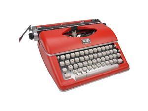 Royal 79120Q Classic Manual Typewriter - Red
