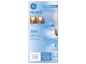 General Electric Co. 89371 Incandescent Globe Bulbs, 200 Watts