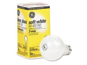 GE Three-Way Soft White Incandescent Globe Bulb 50/100/150 Watts 97494